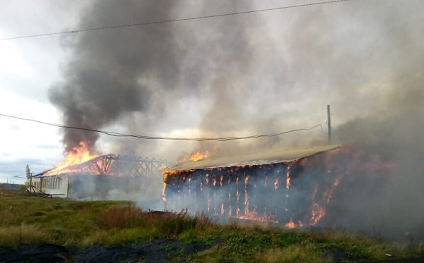 На Таймыре в Волочанке сгорела школа, которую строил Сергей Шойгу