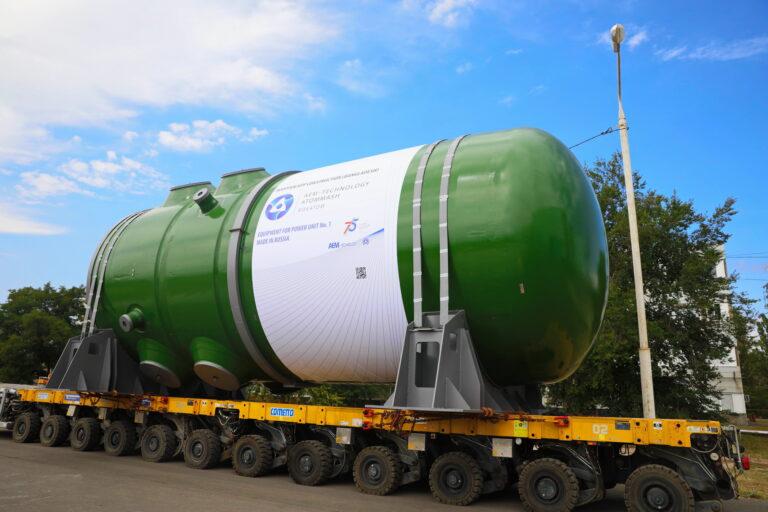 Атомэнергомаш отгрузил первый реактор для дальнего зарубежья