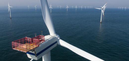 На Тайване установят оффшорный ветропарк мощностью 109 МВт