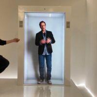 PORTL создала технологию, которая виртуально проецирует человека в натуральную величину в режиме реального времени