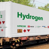 Транспортировка водорода по железной дороге
