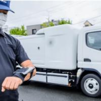 Японцы представили полуавтономный электрический мусоровоз