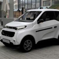 Первый российский электромобиль Zetta