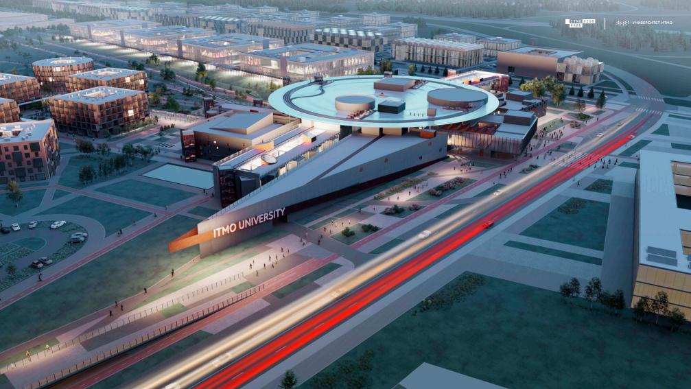 Проект Второго кампуса Университета ИТМО Источник: Архитектурное бюро «Студия 44»