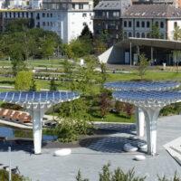 В Будапеште открыли парк «Ветряные ворота» - с висячими садами и «солнечными» деревьями