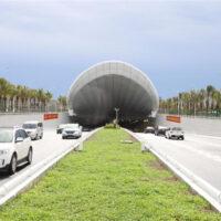 В Китае запустили в эксплуатацию автомобильный тоннель под рекой