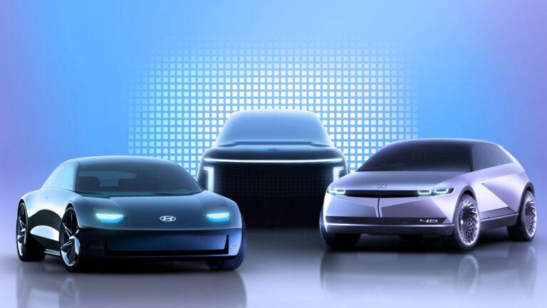 LG и Hyundai представили свою концепцию электромобиля будущего