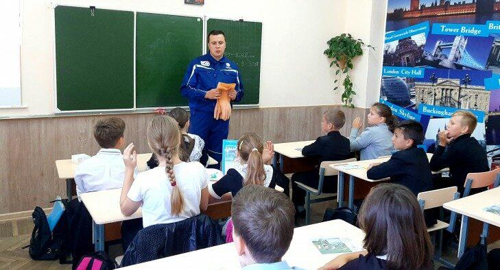 Специалисты «Россети Кубань» провели урок электробезопасности для школьников Славянска-на-Кубани
