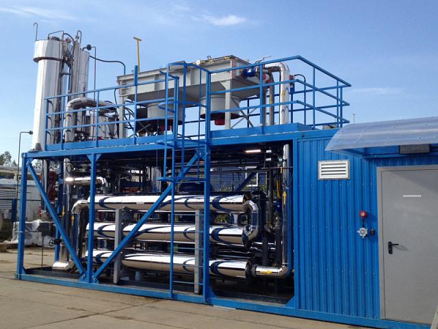В Днепре на Правобережном полигоне твердых бытовых отходов установили биогазовую станцию мощностью 1 МВт