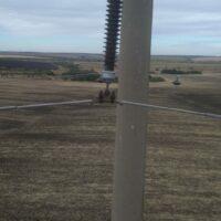 На воздушных линиях электропередачи в Волгоградской области начались испытания инновационного оборудования