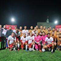 Команды Министерства энергетики и «Росич» сыграли в товарищеском матче по футболу Roscongress Cup