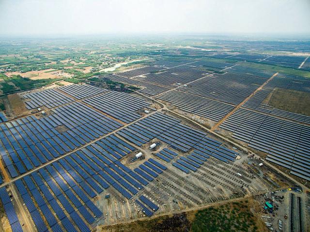 В Индии построят солнечную станцию мощностью 165МВт