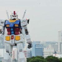 В Японии сделали гигантского робота из аниме