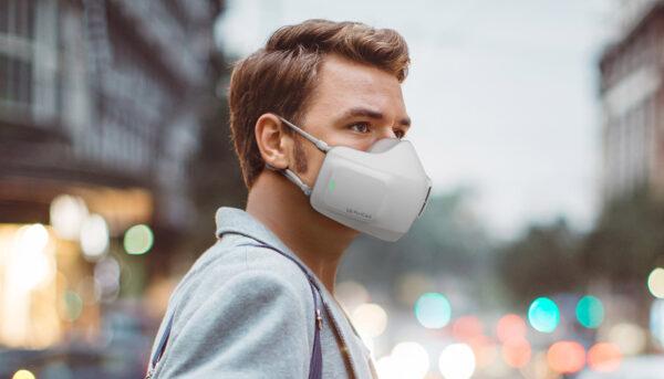Создана защитная маска-очиститель воздуха, которая работает на аккумуляторе