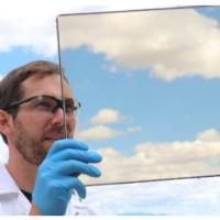 Ученым удалось создать прозрачное солнечное оконное стекло