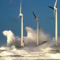 В Японии разработали ветряные турбины которые могут производить электроэнергию во время тайфуна