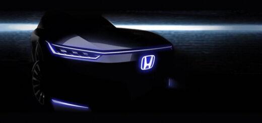 Honda показала свой новый футуристический электромобиль