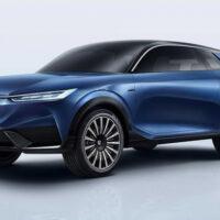 Honda представила электрокроссовер Honda SUV e:concept, который демонстрирует направление дизайна грядущих электромобилей бренда