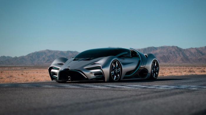 Hyperion запустит продажи первого водородного суперкара X1