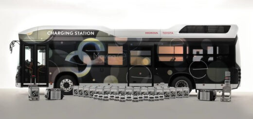 Toyota и Honda разработали автобус-электростанцию