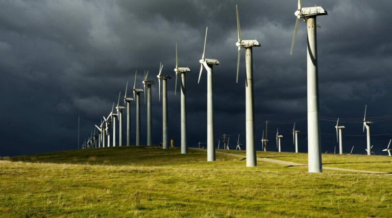 Из-за ураганов в августе ВЭС в Великобритании побили рекорды по выработке электроэнергии