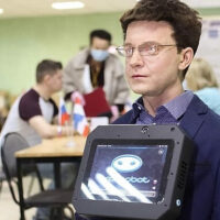 В Пермском крае человекоподобный робот стал наблюдателем на выборах