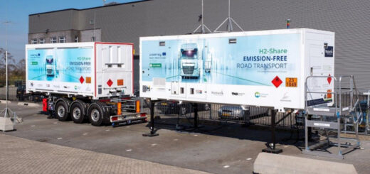 Мобильная водородная заправочная станция выведена на рынок
