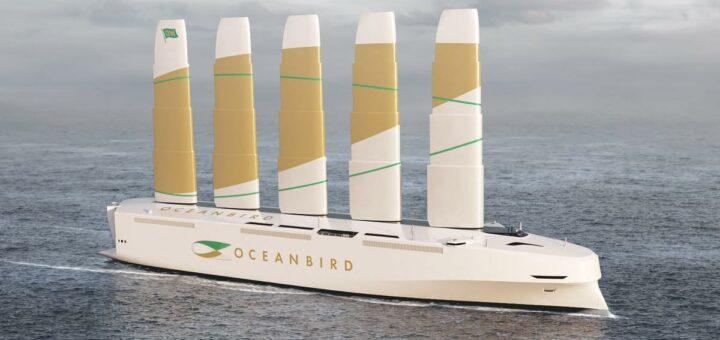 В Швеции представили самое крупное морское транспортное средство, которое работает на энергии ветра