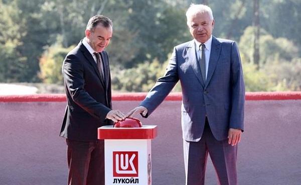 Губернатор Краснодарского края и Президент ПАО «ЛУКОЙЛ» Вагит Алекперов запустили Белореченскую ГЭС