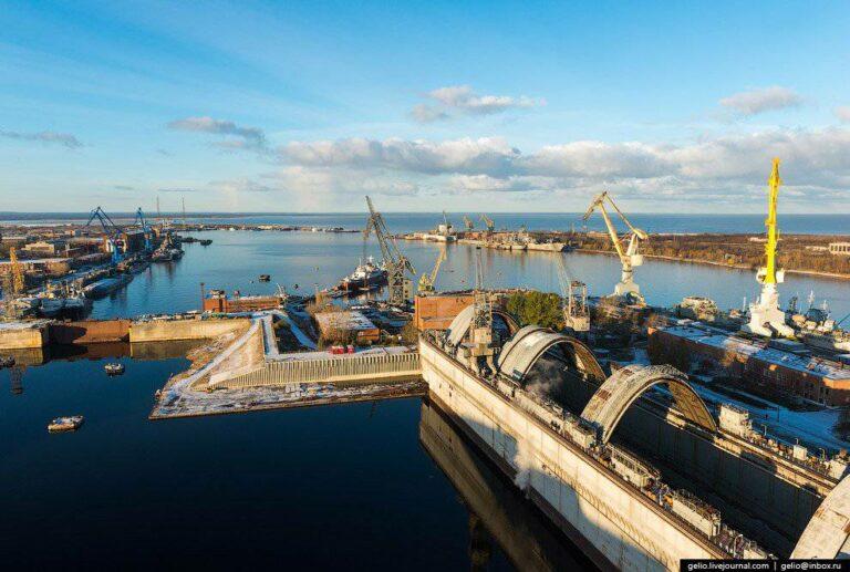 Крупнейший судостроительный комплекс России переходит на газ