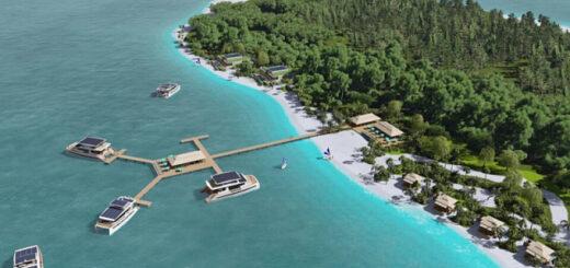 Австрийцы разработали автономный островной частный курорт на солнечной энергии