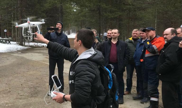 «Россети Ленэнерго» обучают сотрудников управлять беспилотными летальными аппаратами