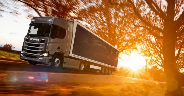 Шведская компания Scania разрабатывает солнечный полуприцеп, который будет вырабатывать электроэнергию