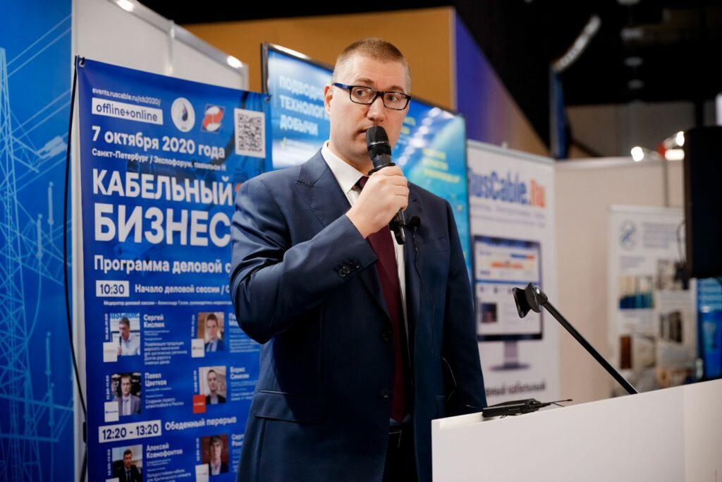Директор НИИ «Севкабель» Павел Цветков