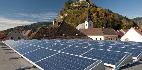 Во Франции запустили мощную солнечную электростанцию в горной долине на средства местных жителей