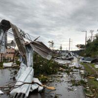В Мексике около 266 тыс. людей остались без электричества из-за урагана «Дельта»