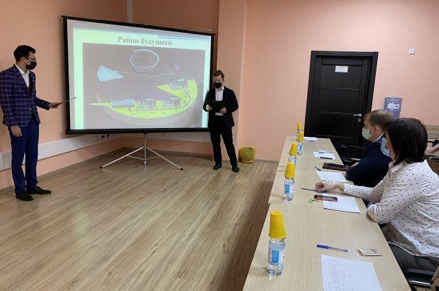 В «Оренбургэнерго» бойцы студотряда «Энергострат» представили проекты будущего