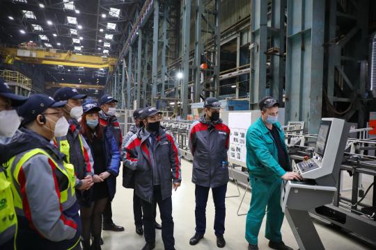 Делегация Совета по ядерной безопасности Турции посетила «Атоммаш»