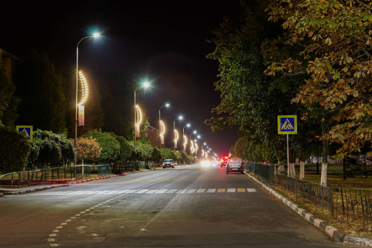 До конца 2020 года современные LED-светильники засветятся во всех районах области