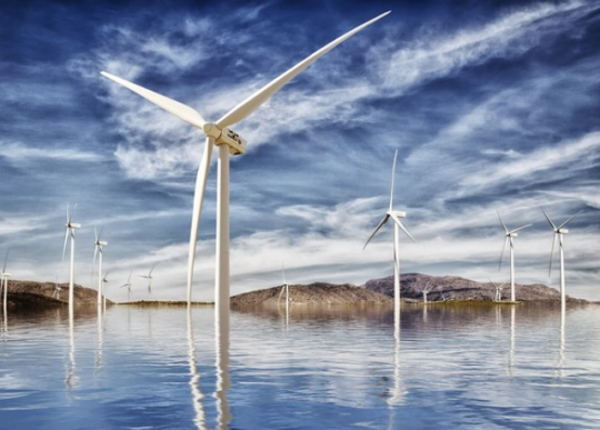 На самом большом озере Швеции построят ветропарк