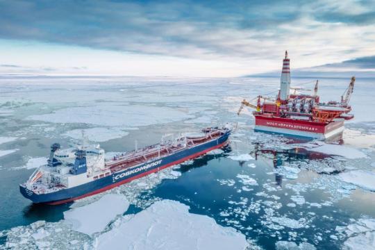 На Приразломном месторождении добыта 15-миллионная тонна нефти