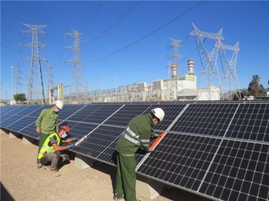 Энергетический концерн Iberdrola строит солнечные электростанции на территории газовых