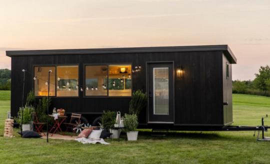 IKEA представила эко-дом на колесах с солнечными панелями