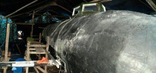В Колумбии захватили электрическую подводную лодку наркоторговцев