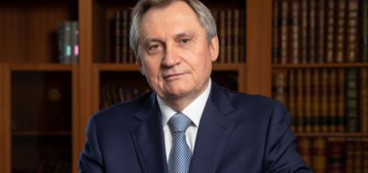 Поздравление Министра энергетики Российской Федерации Николая Шульгинова с Новым годом