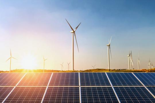 В Индии построят солнечно-ветровую электростанцию мощностью 30 ГВт