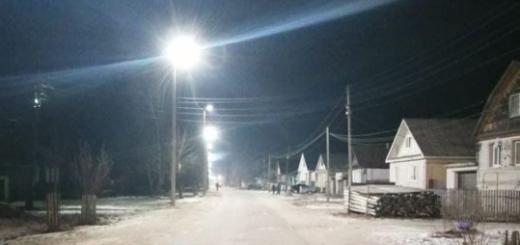 По инициативе жителей «Нижновэнерго» установило новое уличное освещение в р.п. Вознесенское
