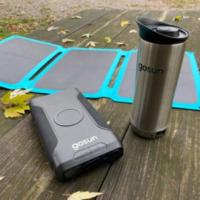 Компания GoSun разработала солнечную кружку, которая позволит заварить кофе или чай где угодно