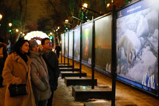 При поддержке «Роснефти» в Москве открылась фотовыставка «Притяжение Арктики»