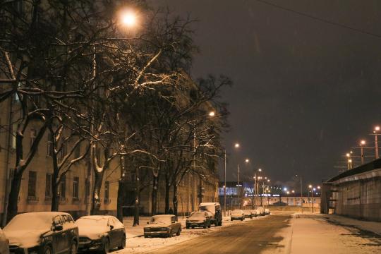 Современную систему освещения получила Кронштадтская улица
